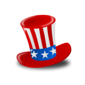 worldlabel,independence day,july4th,usa,hat,patriotic,event,holiday,occasion,icon,color