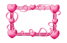 frame,border,glossy,transparent,photo,picture,pink,heart