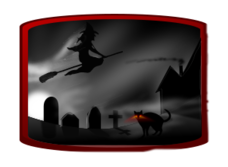 halloween,black,silhouette,icon,avatar,spooky,ghost,text,shade,cat,dark,witch,grave