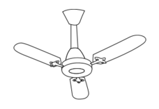 fan,line art,black and white,coloring book