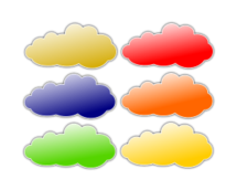 cloud,color,3d
