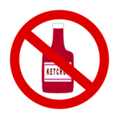 ketchup prohibited,ketchup,bottle,condiment,cooking,food,tomato