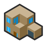isometric,house,building