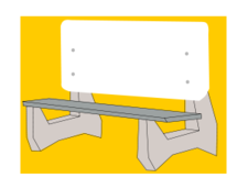 media,clip art,unchecked,public domain,image,png,svg,bench,seat,seating,bus bench,bus stop,colour,cartoon