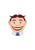 cleanup,cartoon,face,fun face,grinning,amusement park,media,clip art,public domain,image,svg,png