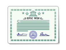 media,clip art,public domain,image,png,svg,certificate,license,paper,attestation,blue,epic,win,signature