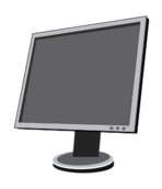 screen,lcd,flat,computer,display,media,clip art,public domain,image,svg