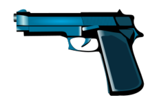 weapon,tool,gun,blue,metal