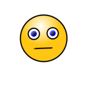 smiley,face,emoticon,emote,worried,bored,neutral,media,clip art,public domain,image,png,svg
