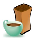 remix,cup,coffee,coffee bean,bean,food,drink,clip art,media,public domain,image,png,svg