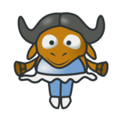 media,clip art,public domain,image,png,svg,animal,antelope,gnu,cartoon,character,dancer,ballet,ballerina