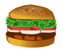 media,clip art,public domain,image,png,svg,food,fastfood,sandwich,burger,hamburger