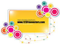 art,background,banner,circle,decoration,design,gradient,modern,multi coloured,rectangle,shape,star,swirl