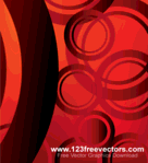 abstract,art,background,circle,decoration,gradient,grunge,modern,red,shape