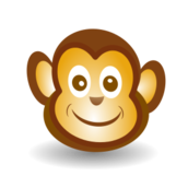 monkey,chimp,funny,cartoon,smile