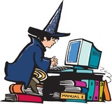 witch,playing,computer
