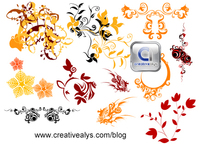 floral element,flora,logo design element,vector flora,flora for logo design,floral symbol for logo design