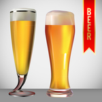 banner,beer,exclusive,glass,gradient,mesh,ribbon,beverage,drink
