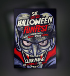 flyer,flyer template,halloween,trick or treat,vampire
