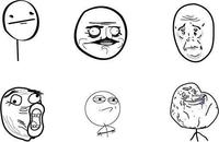 lol,mem,challenge accepted,forever alone,poker face,me gusta,okay,cartoon,cartoon face,cartoon meme