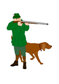 hunter,dog,hunting,hunt,jäger,hund,jagen,jagd,shooting,schießen