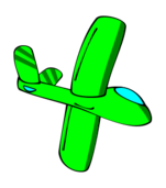 glider,cartoon,green,sailplane,plane
