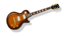 media,clip art,public domain,image,jpg,svg,guitar,rockmusic,music,flametop,illustration,instrument
