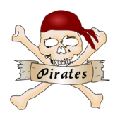pirate,skull,bone,banner,jolly roger