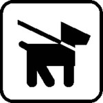 dog,area,sign,board
