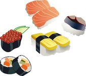 sushi,food,japan,fish,rice,media,clip art,public domain,image,png,svg